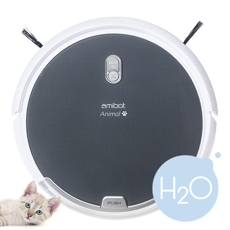 Aspirateur robot / laveur Amibot Animal H2O