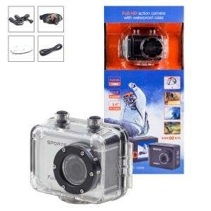 Caméra sportive Full HD - Anti-choc et étanche