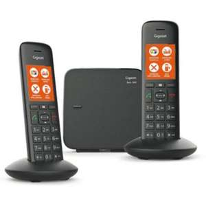 Kit base + 2 combinés DECT Gigaset C570 Duo