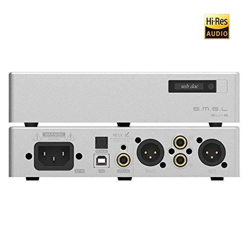 DAC audio SMSL SU-8 v2 - USB XMOS: 32bits, 768kHz, DSD512, Symétrique (vendeur tiers)