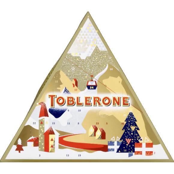 Calendrier de l'avent Toblerone (via BDR de 2.80€)