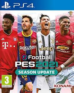 eFootball Pes 2021 sur ps4