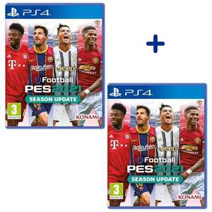 Lot de 2 eFootball PES 2021 - Season Update sur PS4