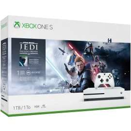Sélection de consoles en promotion - Ex : Pack Console Microsoft Xbox One S (1 To) + Star Wars Jedi: Fallen Order