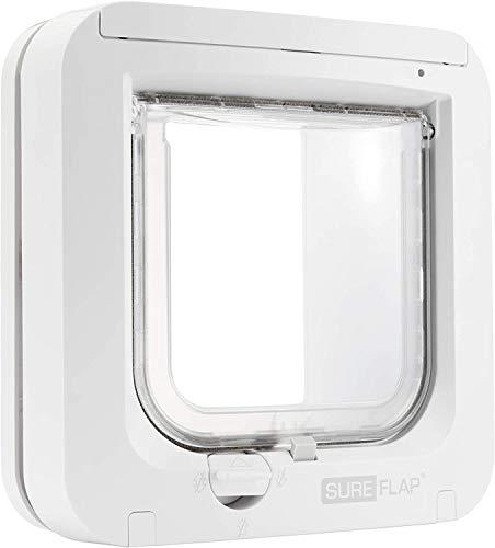 Chatière à puce électronique pour chat Sureflap (blanc) - reconditionnée Comme Neuf