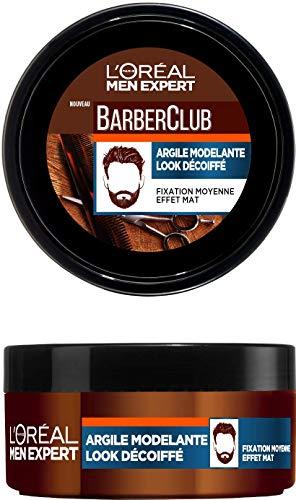 Argile Modelante L'Oréal Paris Barber Club - Look Décoiffé