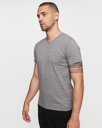 Sélection d'articles en promotion - Ex : T-shirt chiné T-Togs - Gris, Tailles XS à 2XL
