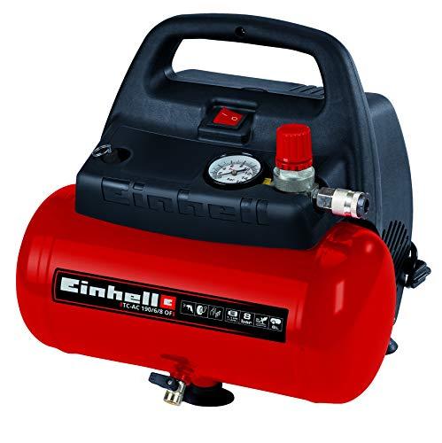 Compresseur Einhell TH-AC 190/6 OF - 1100 W, Puissance d'aspiration 185 l/min