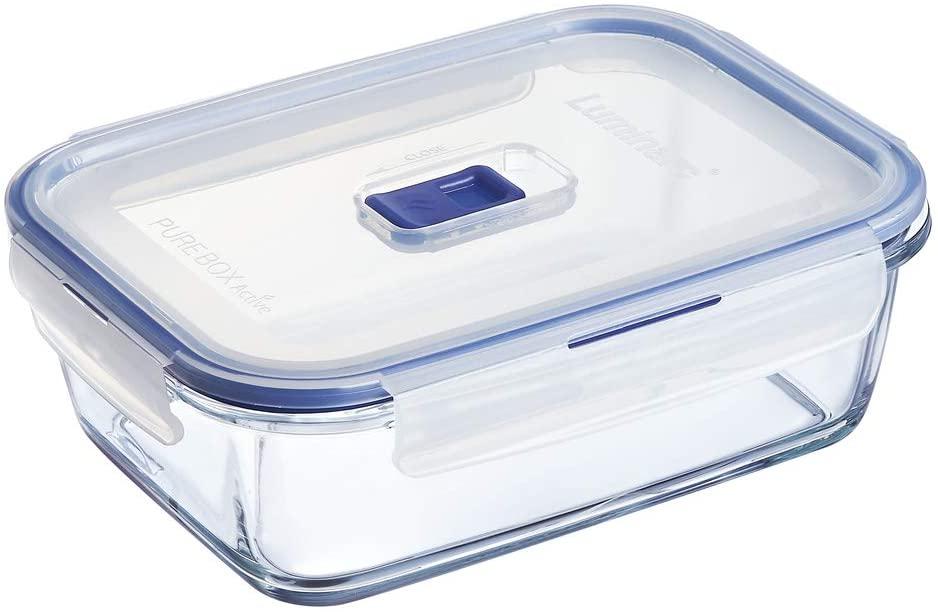Boîte de Conservation hermétique en verre Luminarc Pure Box Active - 1.22L