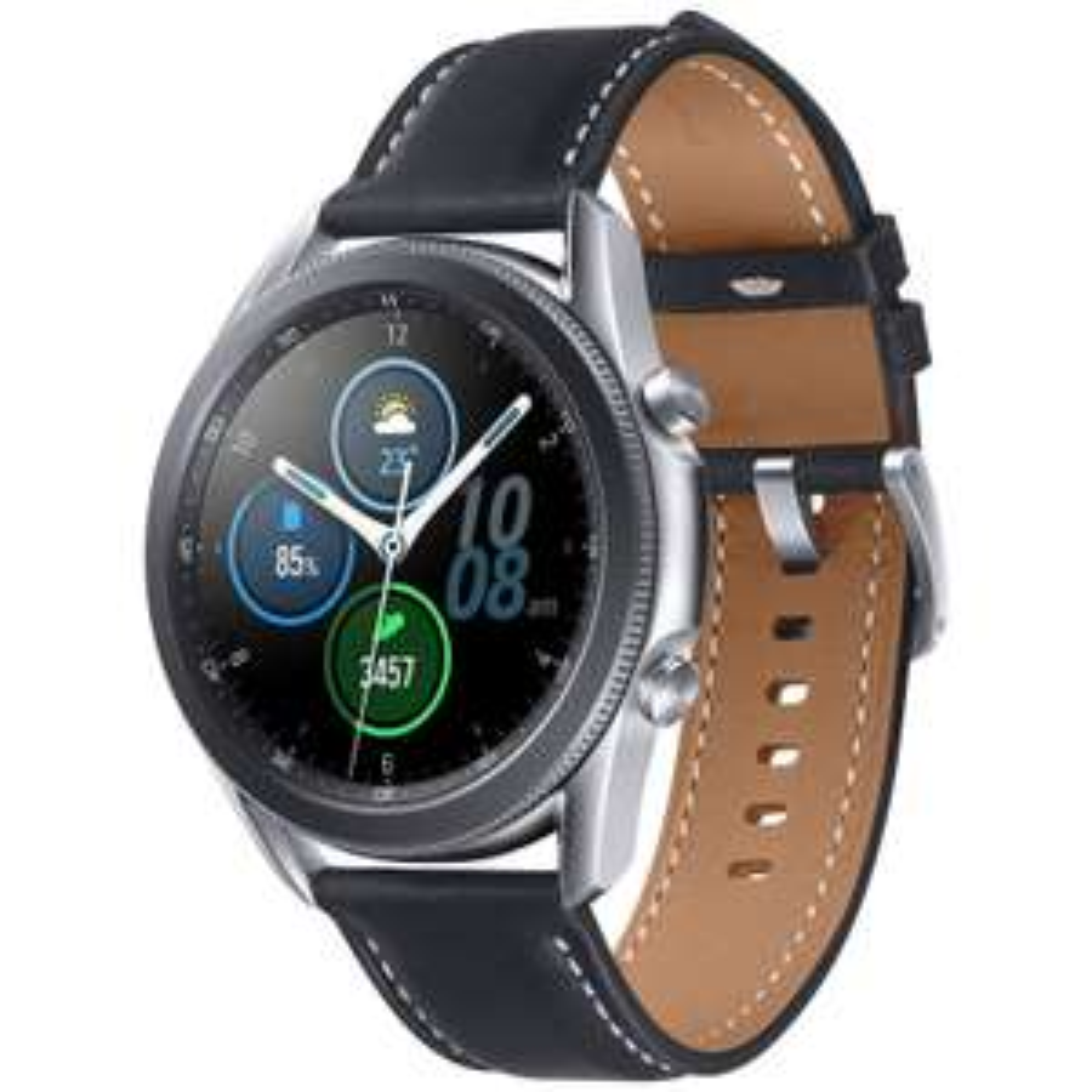 Montre connectée Samsung Galaxy Watch 3 - Noir, Boitier 45 mm (Vendeur tiers)