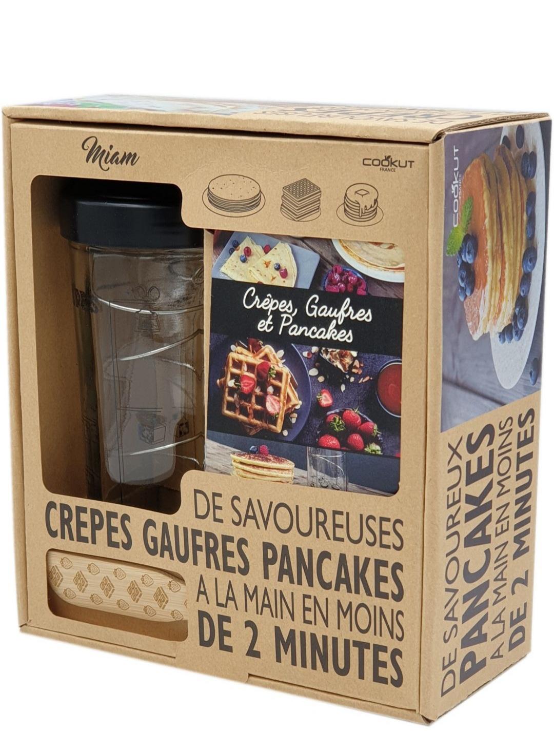 Shaker à crêpes et pancakes Cookut