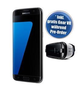"Précommande : Smartphone 5.1"" Samsung Galaxy S7 - Noir + Casque Samsung Gear VR"