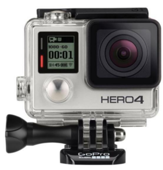 Caméra sportive GoPro Hero 4 - Silver Edition
