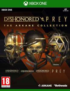 The Arkane Collection - 3 Jeux Dishonored + Prey sur Xbox One