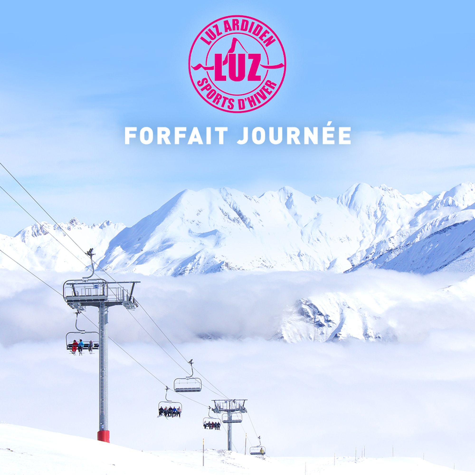 Sélection de Forfaits de ski dans les Pyrénées - Ex: Forfait journée Enfant Luz Ardiden (Valable toute la saison)