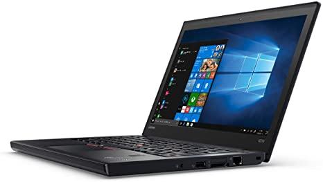 "PC Portable 12.4"" Lenovo ThinkPad X270 - i5-7300U, 8 Go RAM, 240Go SSD, HD LED, Webcam, WiFi, Ubuntu (Reconditionné)"