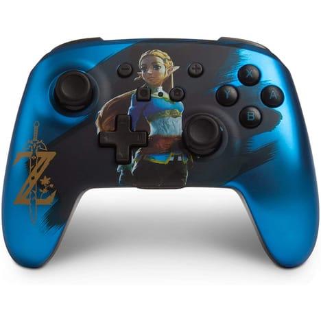 image produit Sélection de manettes sans fil pour Nintendo Switch - Ex: Manette Zelda