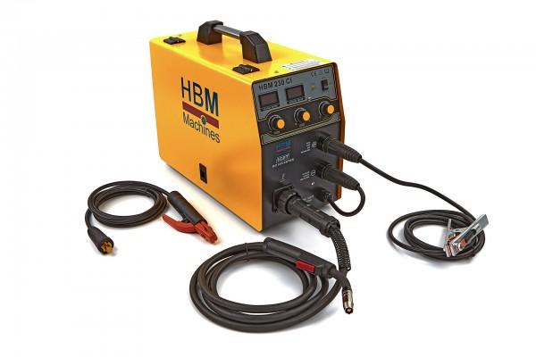 HBM 230 CI MIG Inverter avec affichage numérique et technologie IGBT (hbm-machines.com)