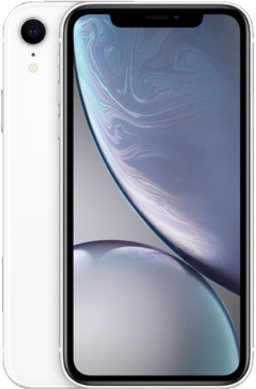 "Smartphone 6.1"" Apple iPhone XR - full HD Retina, A12, 3 Go de RAM, 64 Go, blanc"