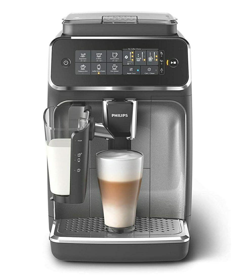 Machine à Café Automatique Expresso Philips LatteGo EP3246/70 - Argent
