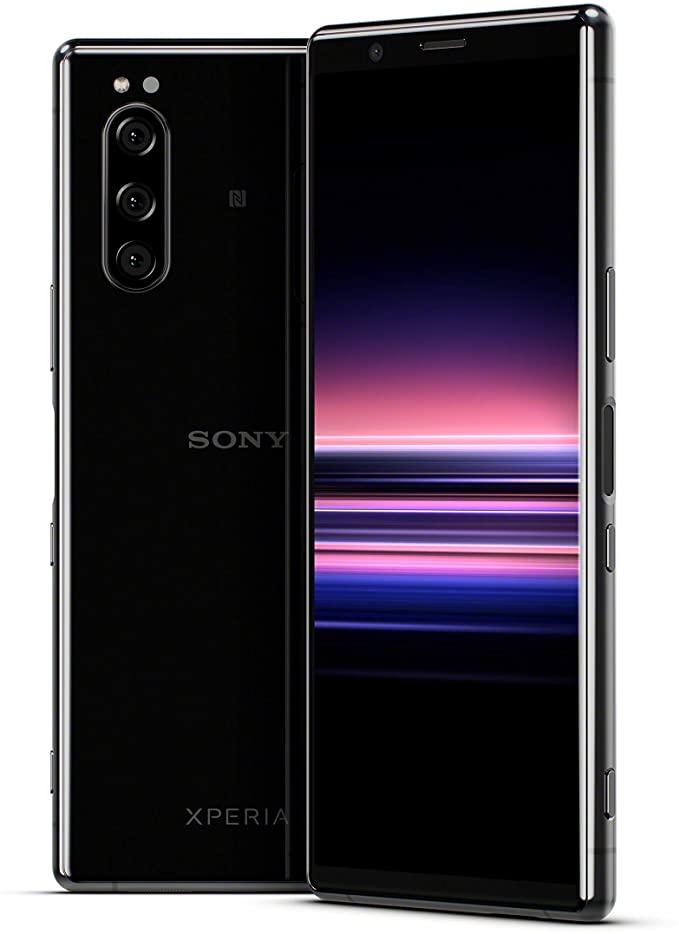 "Smartphone 6.1"" Sony Xperia 5 - Ecran Full HD+ 21:9, Snapdragon 855, 6 Go RAM, 128 Go ROM, Slot Micro SD, Dual Sim"