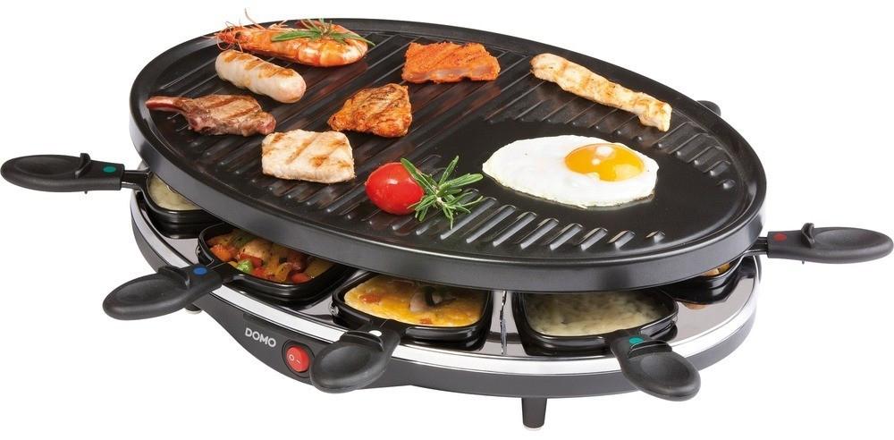 Appareil à raclette 8 personnes Domo DO9038G - 1200 W
