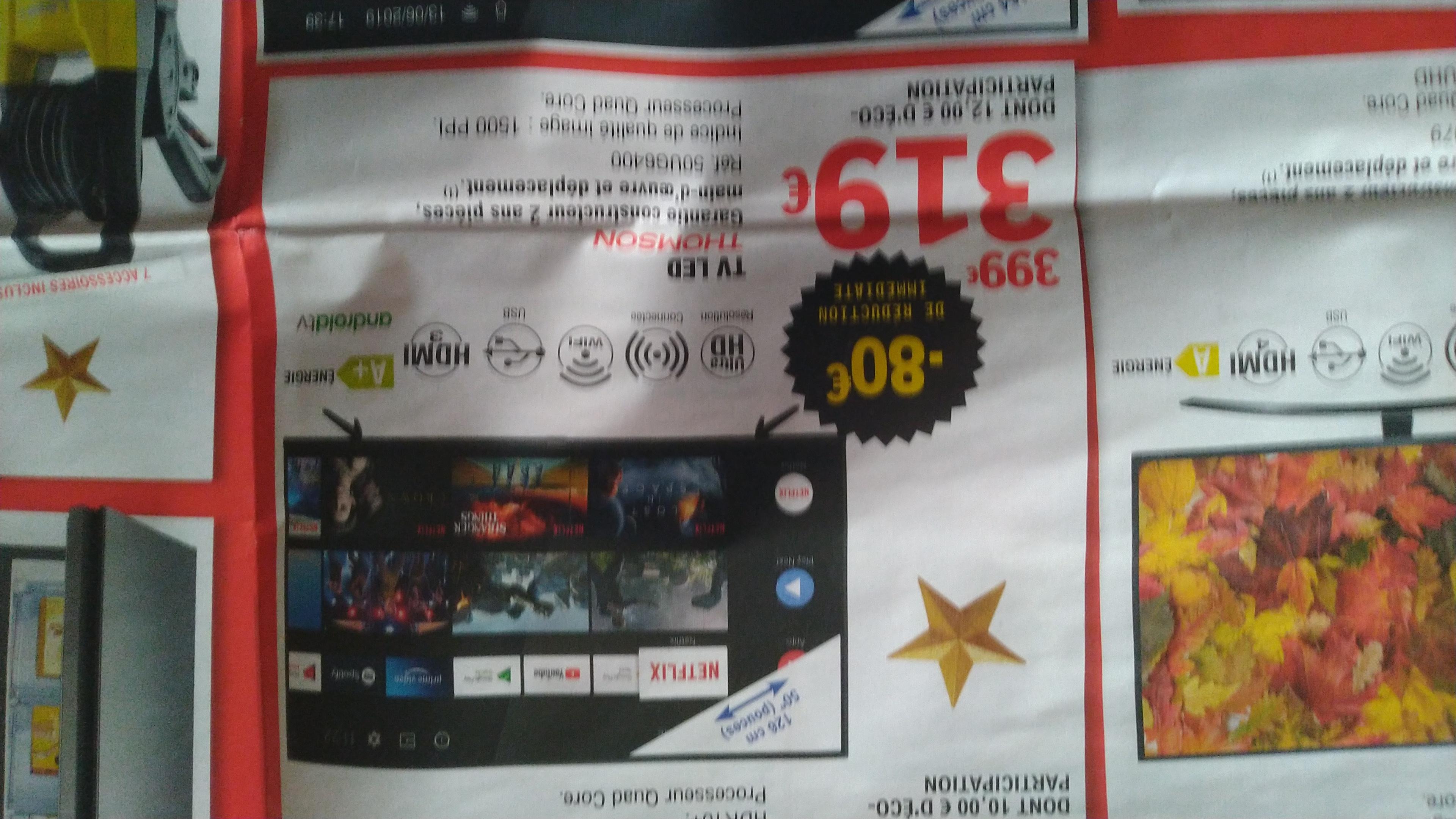 """TV 50"""" Thomson 50UG6400 - LED, Android TV"""
