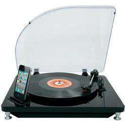 Platine vinyle USB Ion iLP avec dock iPhone/iPad