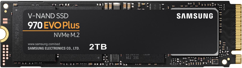 SSD interne M.2 Samsung 970 Evo Plus - 2 To