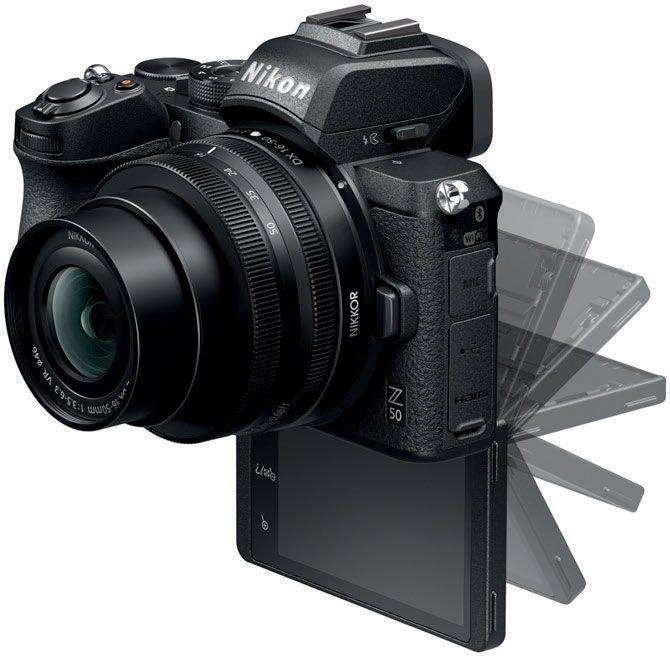 Appareil photo Nikon Hybride Z50 + Objectif Z 16-50 mm (+36.96€ en Rakuten Points)