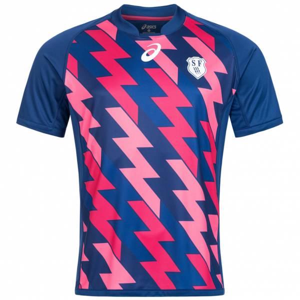 Sélection d'articles Asics Stade Français Paris Rugby en promotion - Ex : maillot 16/17 - domicile, sans sponsors (du S au XXXL)