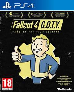 Pack Jeux Fallout 4 GOTY + Fallout 76 Wastelanders sur PS4