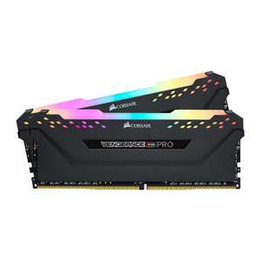 Kit mémoire Ram DDR4 Corsair Vengeance RGB Pro 16 Go (2 x 8 Go) - 3600 MHz, C18