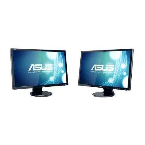 """Lot de 2 écrans 24"""" Asus VE247H - Full HD, 2 ms"""