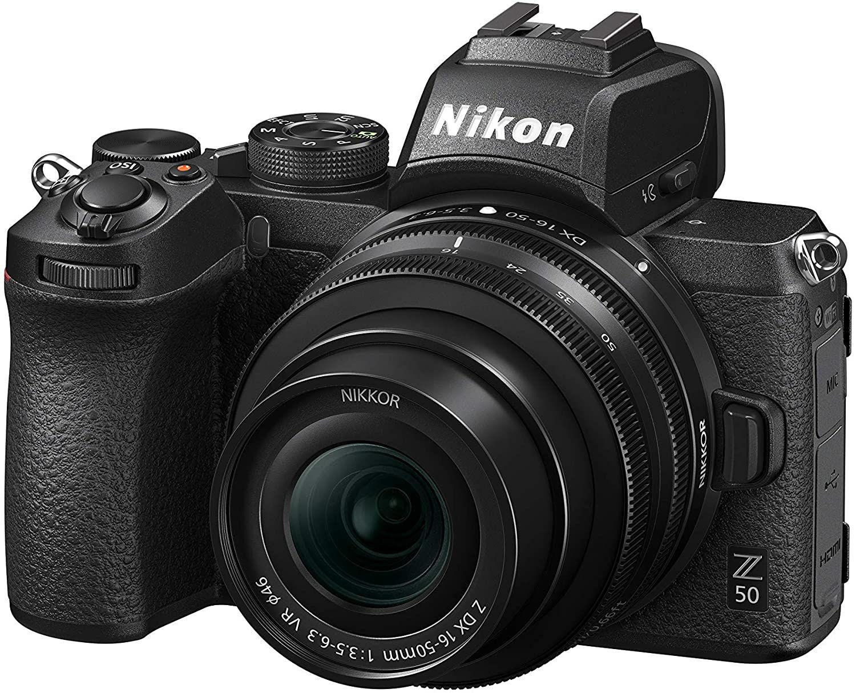 Appareil photo Nikon Hybride Z50 + Objectif Z 16-50 mm
