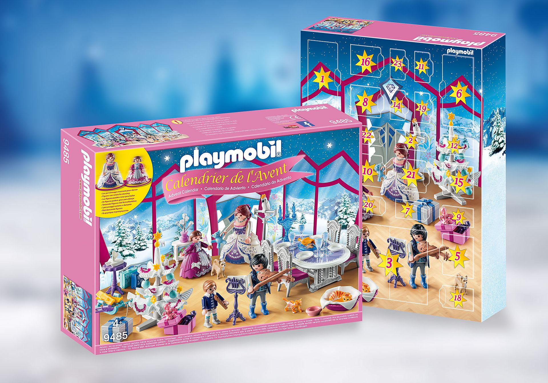 Calendrier de l'Avent playmobil - Bal de Noël au salon de Cristal n°9485