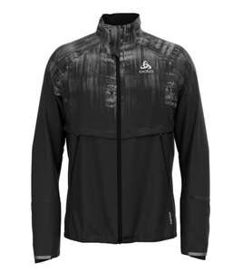 Veste homme Odlo Jacket zeroweight pro warm reflect - Noir
