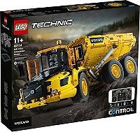 Jeu de construction Lego : Le tombereau articulé Volvo 6x6 n°42114 (Via 66.33€ sur Carte Fidélité)