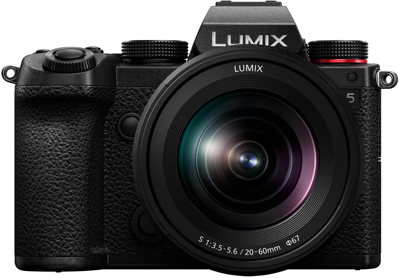Pack appareil photo numérique Panasonic Lumix DC-S5 (24.2 Mpix, CMOS) + objectif Lumix S 20-60 mm f3.5-5.6