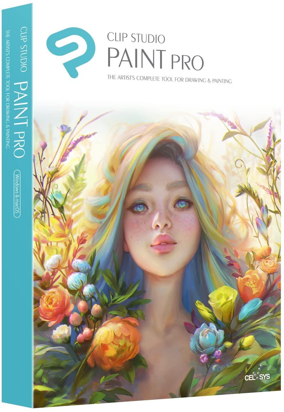 Logiciels Clip Studio Paint en promotion (Dématérialisés) - Ex: Clip Studio Paint Pro (clipstudio.net)