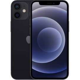 "Smartphone 5.4"" Apple iPhone 12 Mini - 64 Go, Noir (+77.90€ en Rakuten Points)"