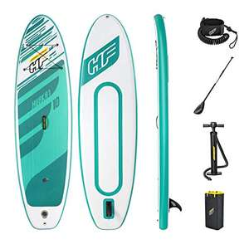 Sup Paddle gonflable Hydro Force Huaka'i Tech 10 avec accessoires - 305 x 84 x 15 cm