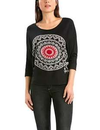 T-shirt imprimé Femme Desigual Saturday