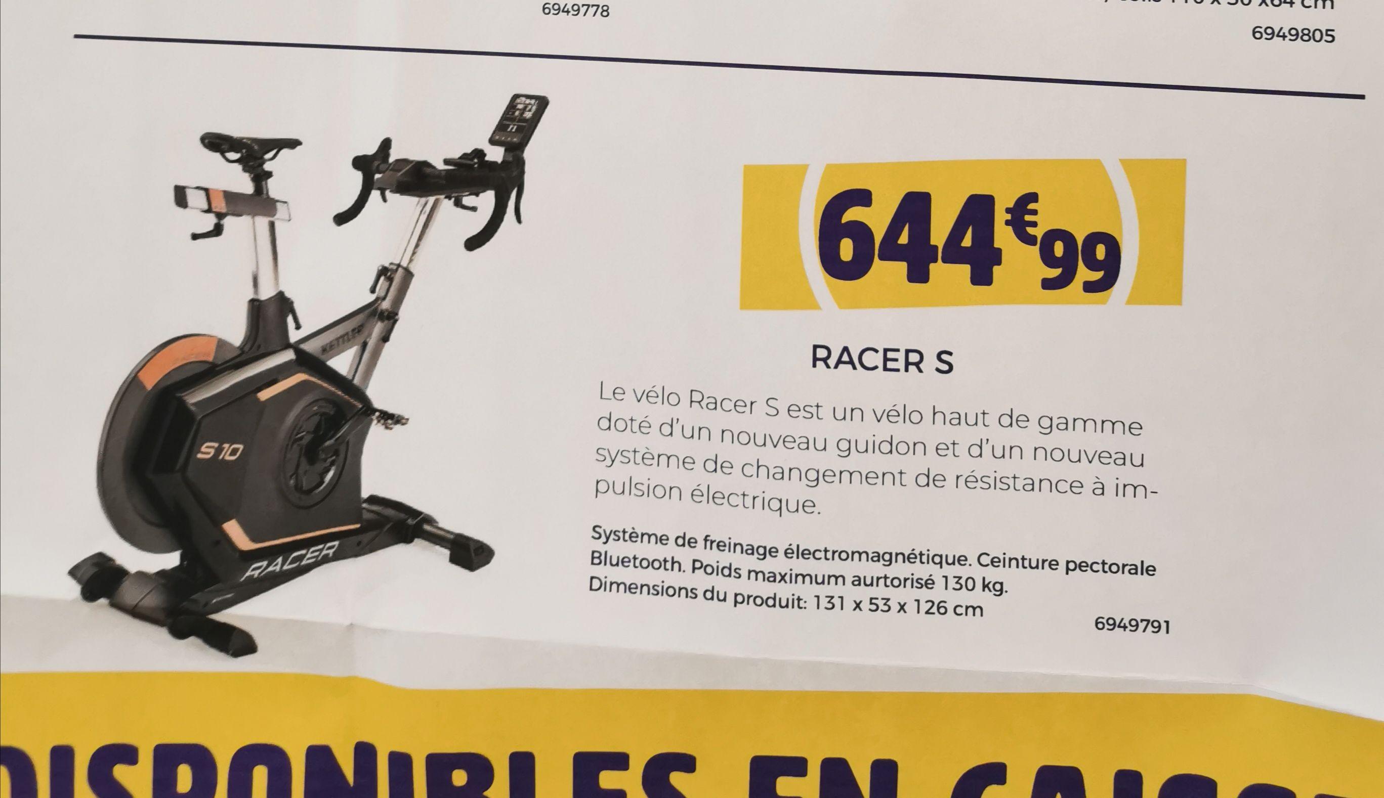 Vélo d'appartement Kettler Racer S 10 - Gournay-en-Bray (76)