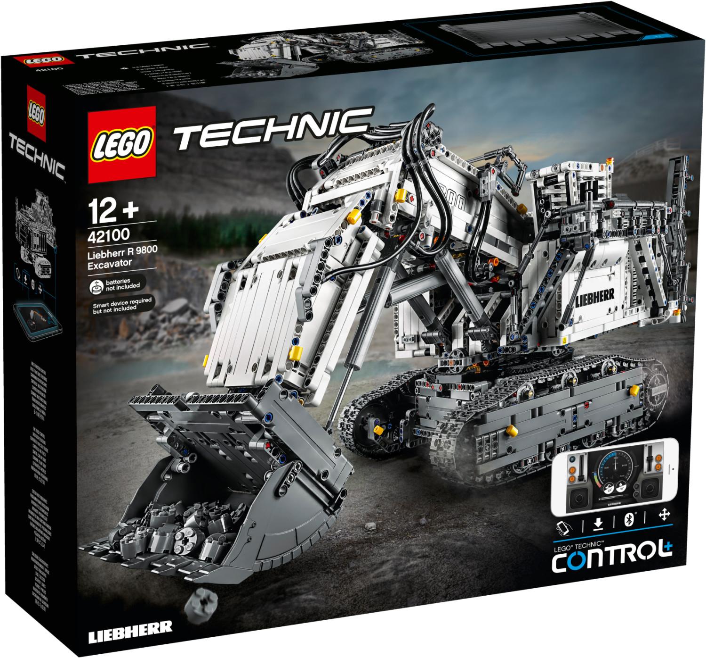 Jouet Lego Technic - La pelleteuse Liebherr R 9800 42100 (via 105€ sur la carte de fidélité)