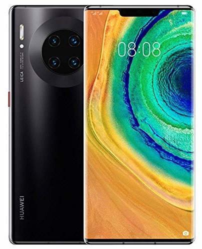 """Smartphone 6.53"""" Huawei Mate 30 Pro - full HD+, Kirin 990, 8 Go de RAM, 256 Go, noir, sans services Google"""
