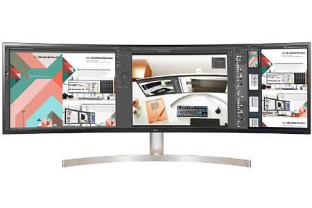 """Écran PC 49"""" Incurvé LG 49WL95C-W - Ultrawide Dual Quad HD, 5ms"""