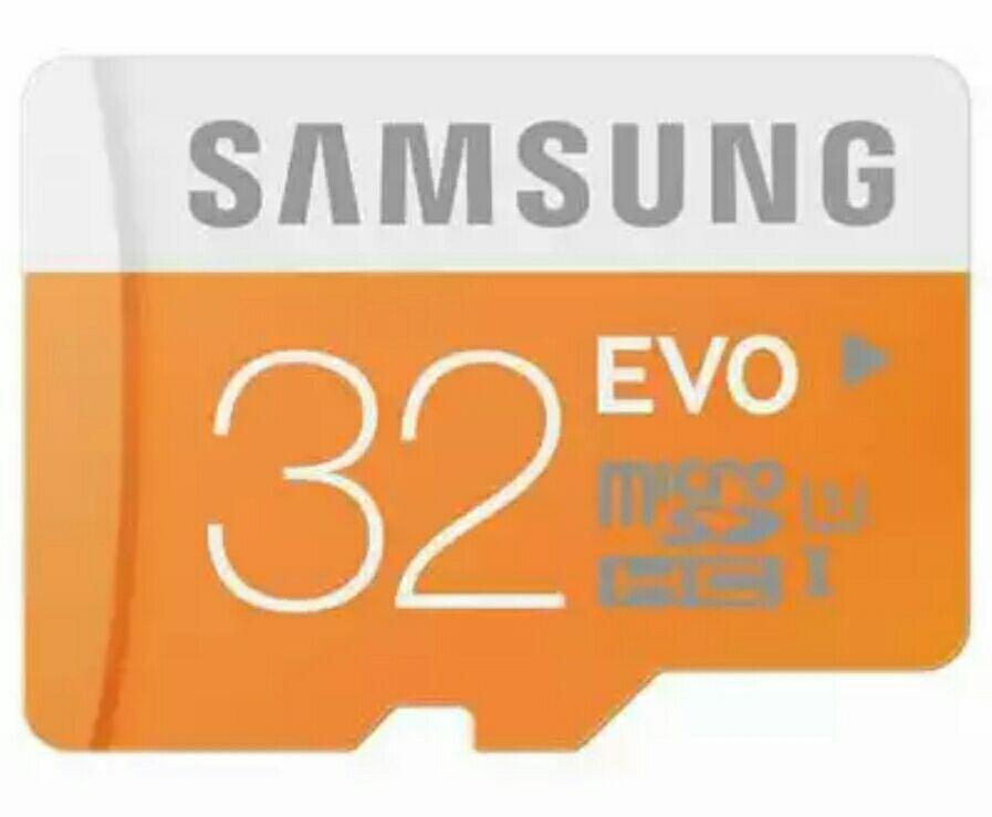 Carte MicroSDHC Samsung 32 Go Evo Classe 10 (jusqu'à 48Mo/s)