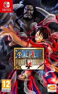 Jeu One piece pirate warriors 4 sur Nintendo Switch