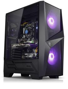 Tour PC Fixe Elite - AMD Ryzen 5 5600X, GeForce RTX 3070 (8 Go), 16 Go RAM (3000 Mhz), 512 Go SSD